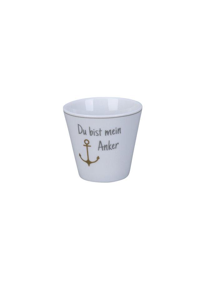 Espresso Cup - Du bist mein Anker