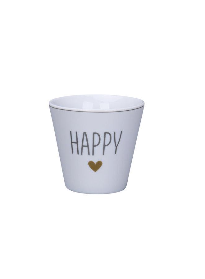 Espresso Cup - Happy