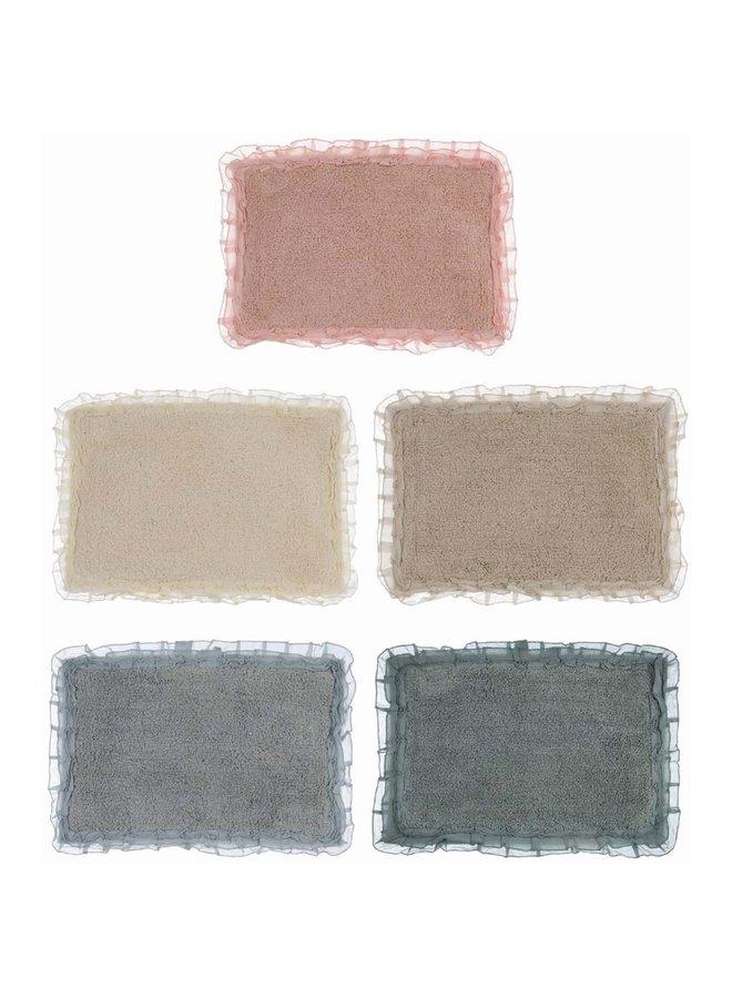"""Badezimmer Teppich """"Toulon"""" - 5 Farben"""