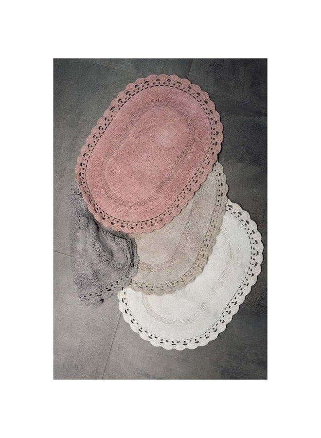 """Badezimmer Teppich """"Oval"""" - 4 Farben"""