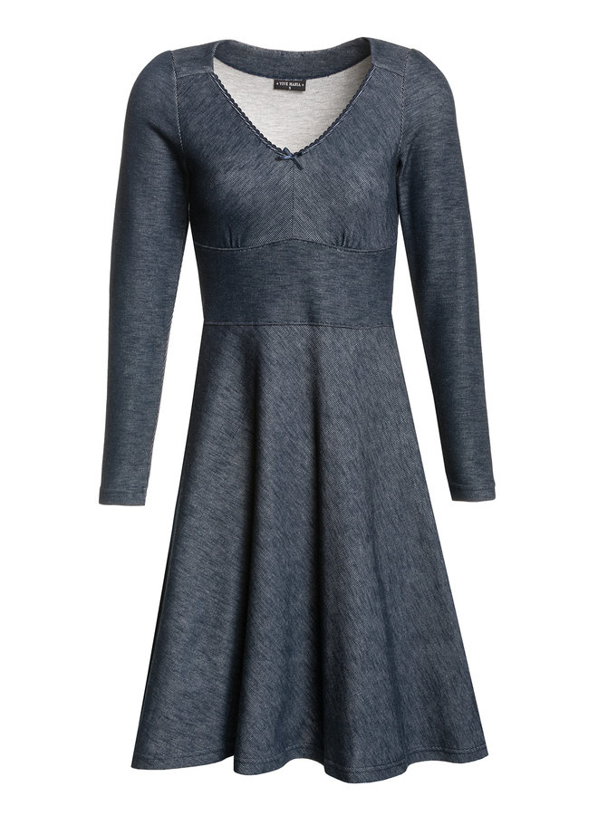 Kleid - Denim Marie Dress - blue