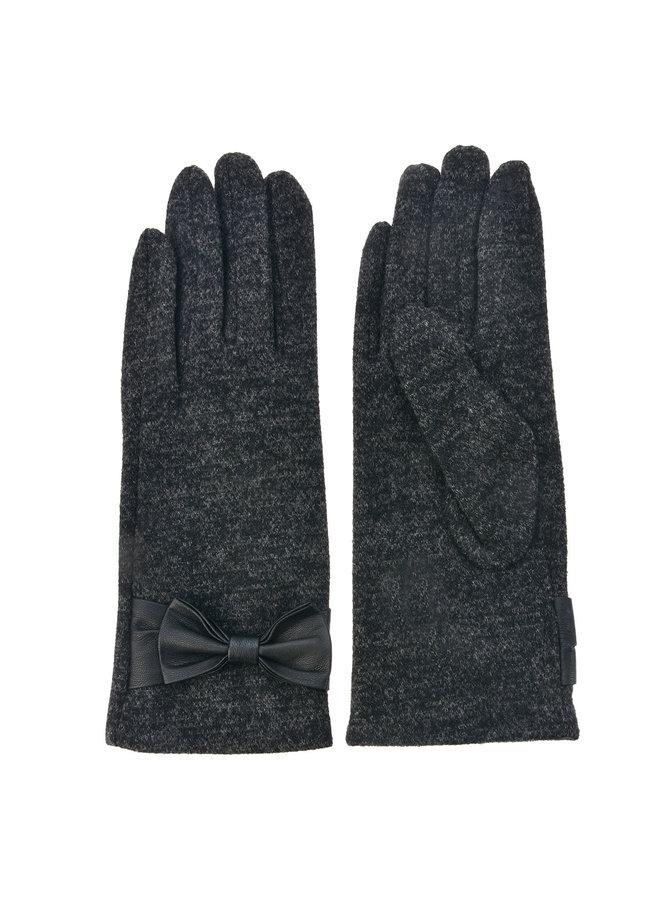 Handschuhe Dunkelgrau - mit Smartphone Touch