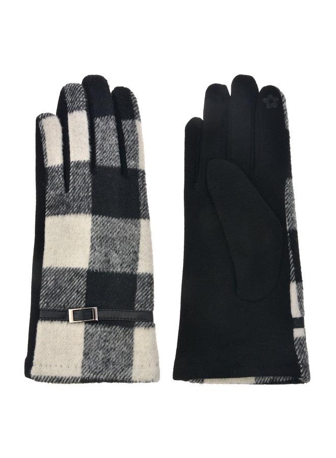 Handschuhe Karo - mit Smartphone Touch