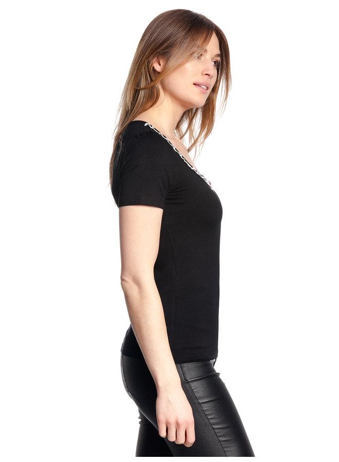 T-Shirt - Be My Maid - black