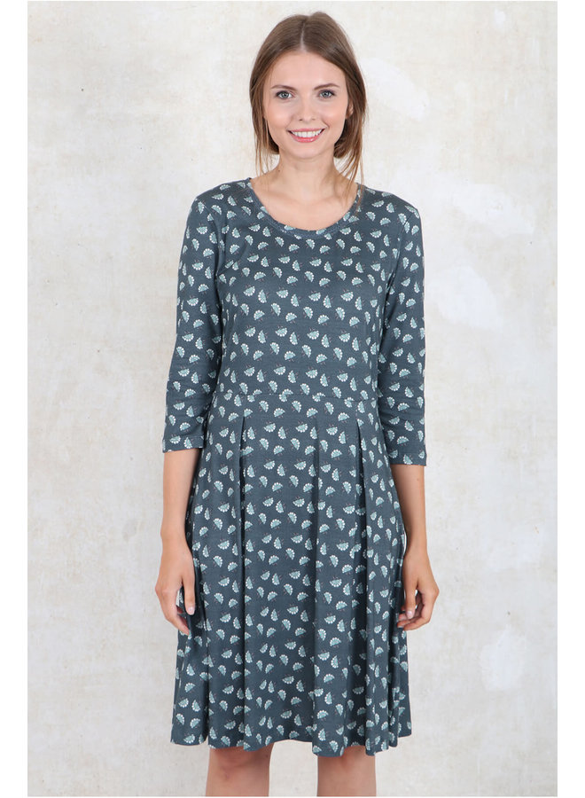 Kleid Finna - blue grey