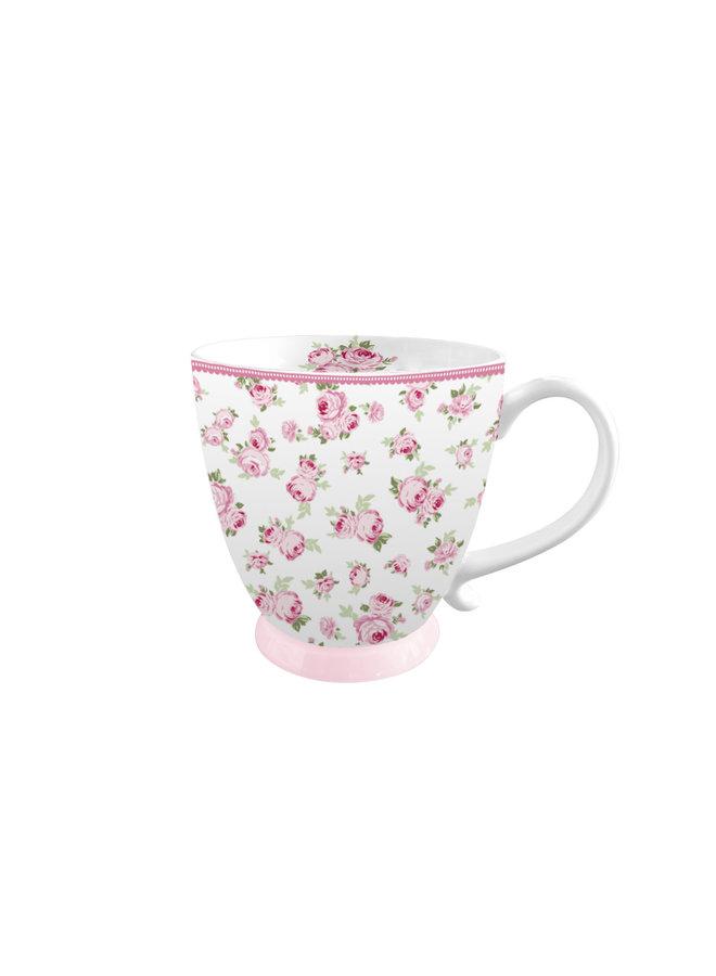 """Porzellan Tasse """"Zauberhafte Blüten"""""""