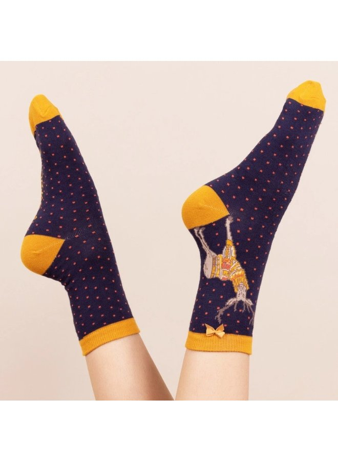 "Powder Socks ""Hirsch Joe"""
