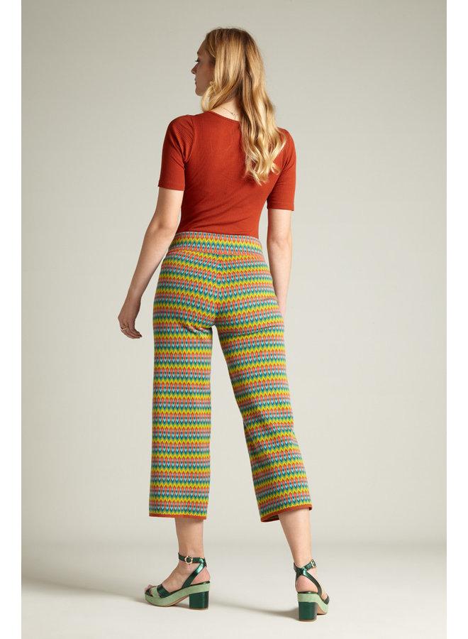 Basic Shirt - Carice Top Rib Tencel - Spicy Brown