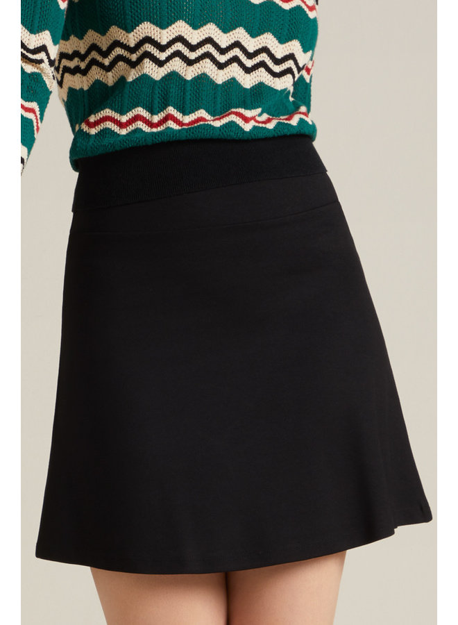Rock - Border Skirt Milano Uni - Black