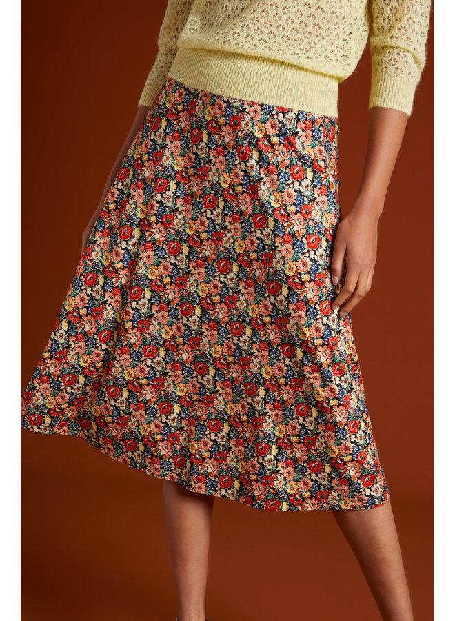 Rock - Juno Midi Skirt Santa Rosa - Black