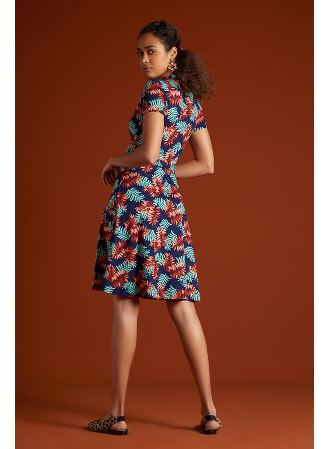 Kleid - Emmy Dress Palo Verde - Peacoat Blue