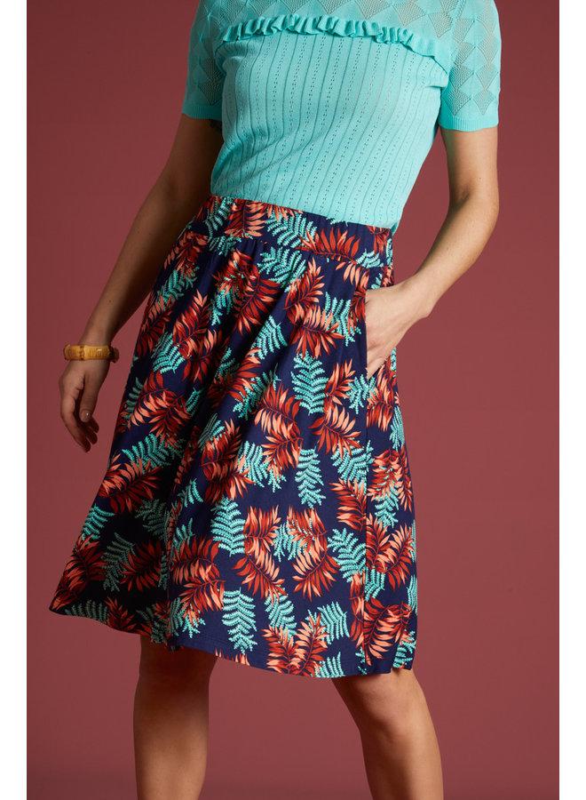 Rock - Serena Skirt Palo Verde - Peacoat Blue