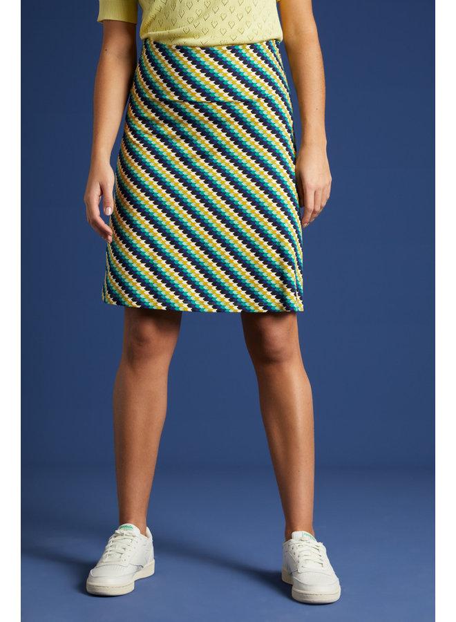 Rock - Border Skirt Daze - Eden Green