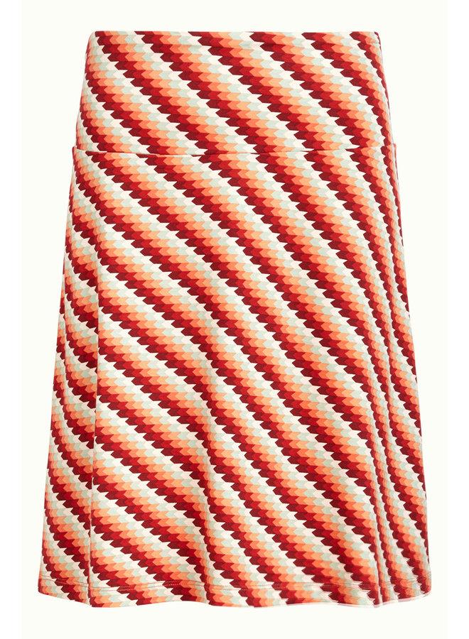 Rock - Border Skirt Daze - Popsicle Orange