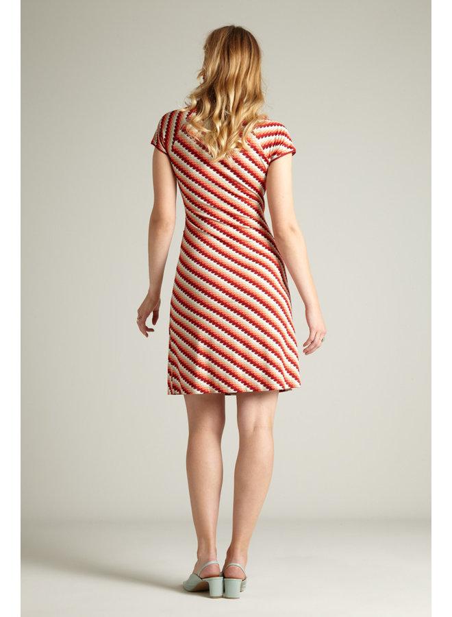 Kleid - Cross Dress Daze - Popsicle Orange
