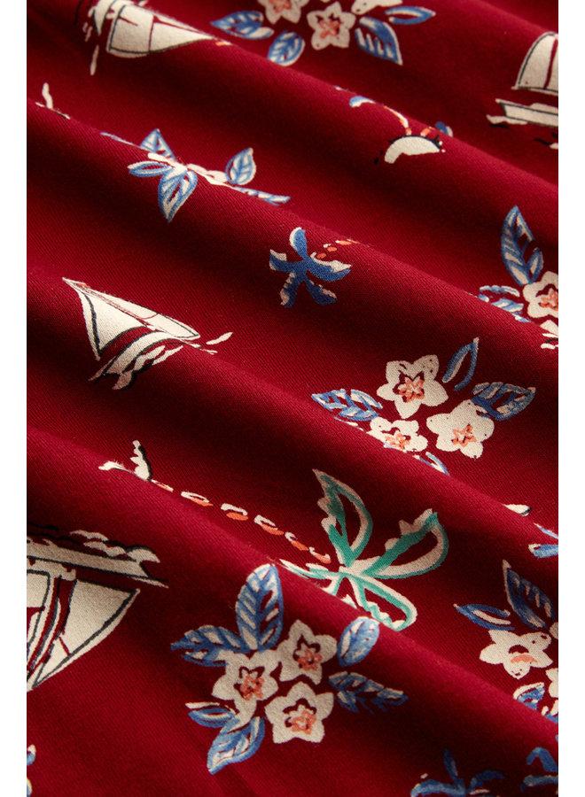 Rock - Gail Skirt Ventura - Ribbon Red