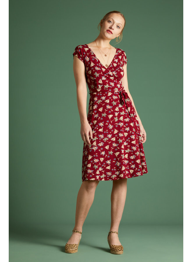 Kleid - Mira Dress Ventura - Ribbon Red