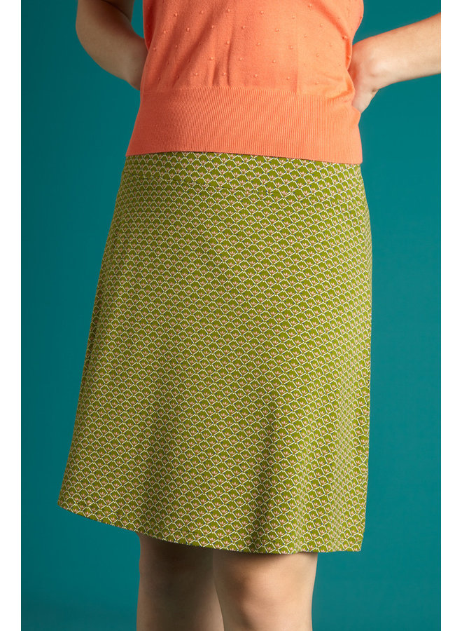 Rock - Border Skirt Fresno - Posey Green