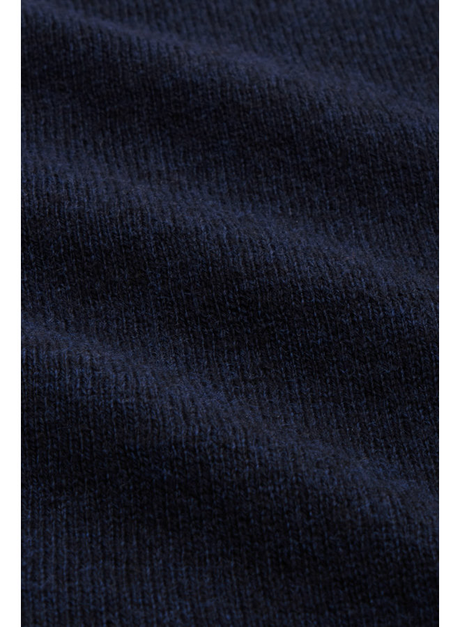 Cardigan - Cardi Roundneck Cocoon - Blue
