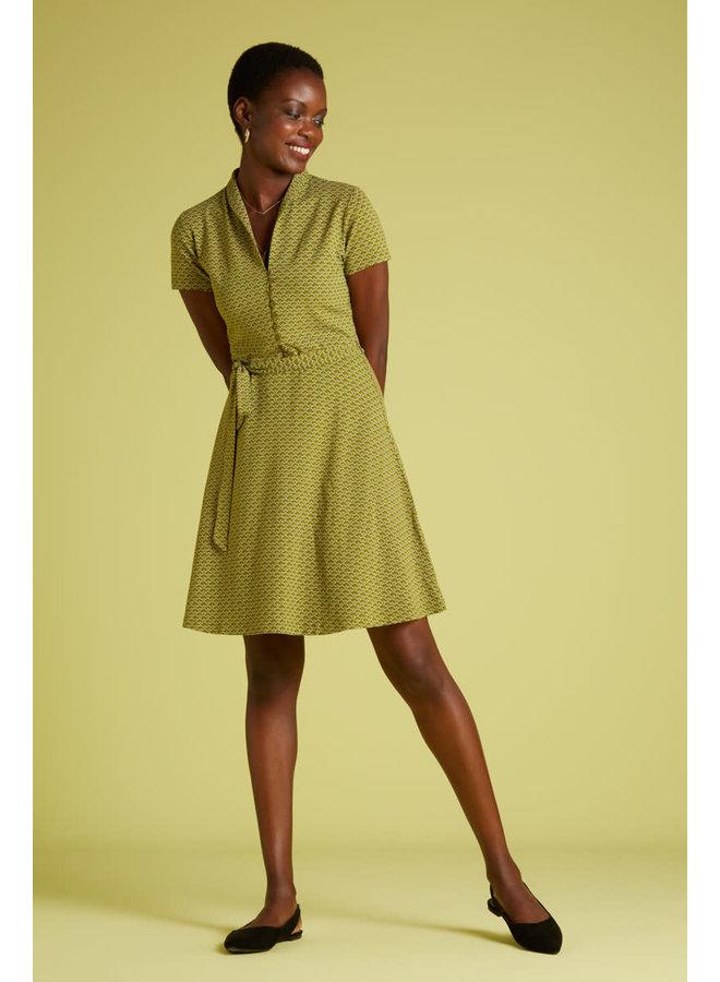 Kleid - Emmy Dress Fresnon -  Posey Green
