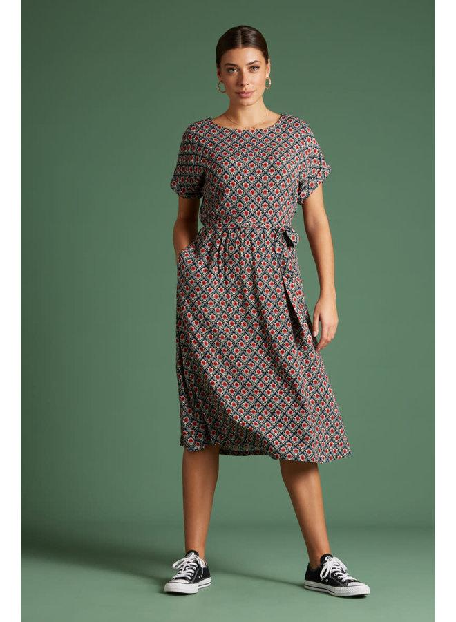 Kleid - Betty Dress Loose Fit Palmer - Black