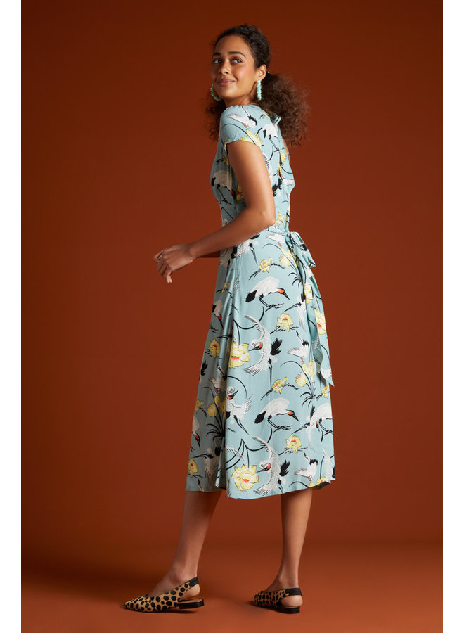 Kleid - Shiloh Dress Del Rey - Blue Haze