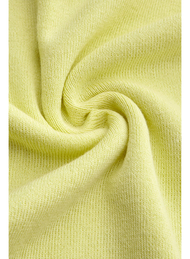Strick-Oberteil - Audrey Top Organic Cottonclub -  Yellow Pear