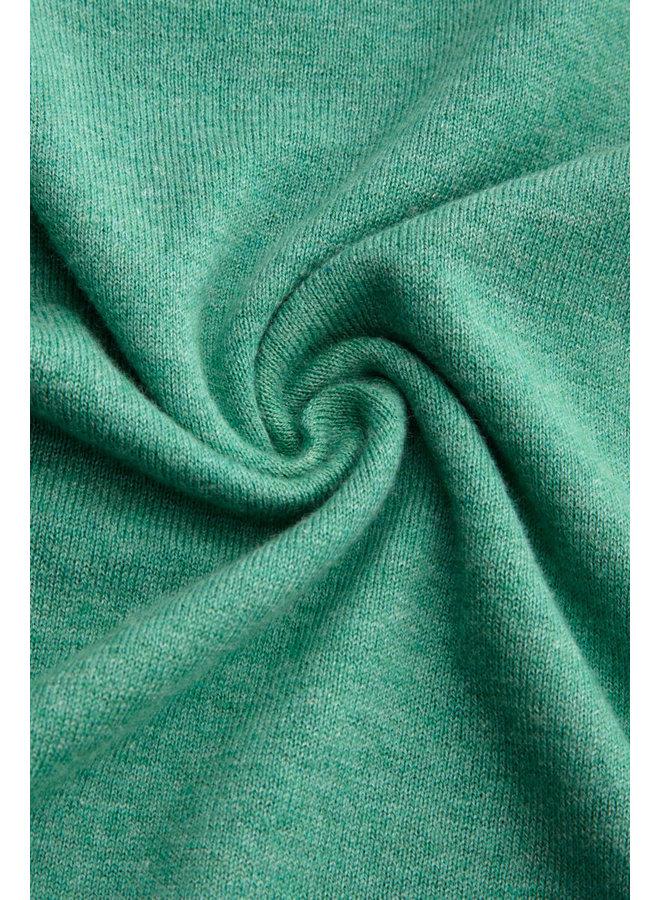 Cardigan - Cardi V Cocoon -  Opal Green