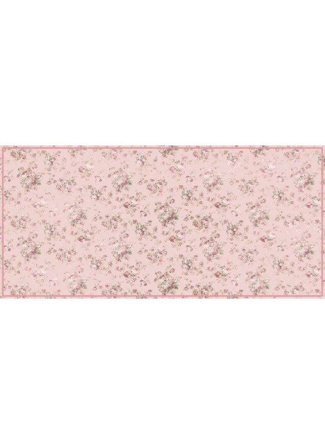 """Teppich """"Vintage Roses"""" - 150x74cm"""