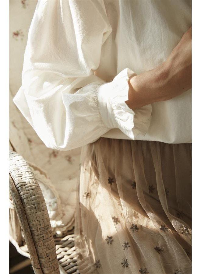 Bluse Maggie - White Sand