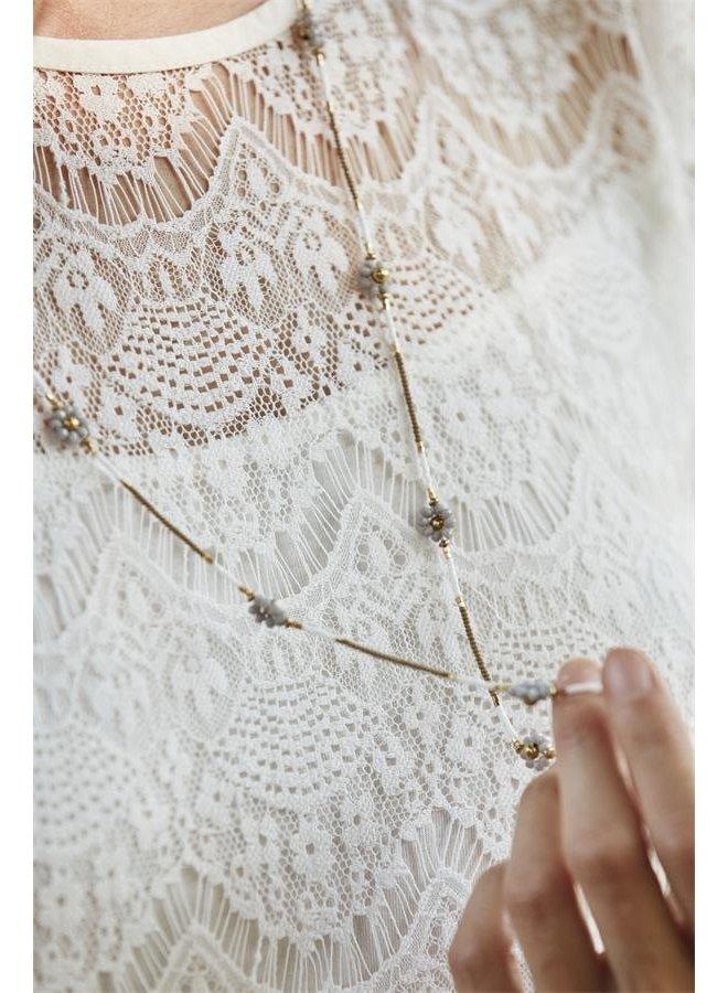 Kleid Ava - Bright white