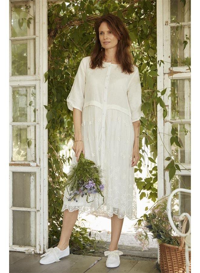 Kleid Isabella - White Sand