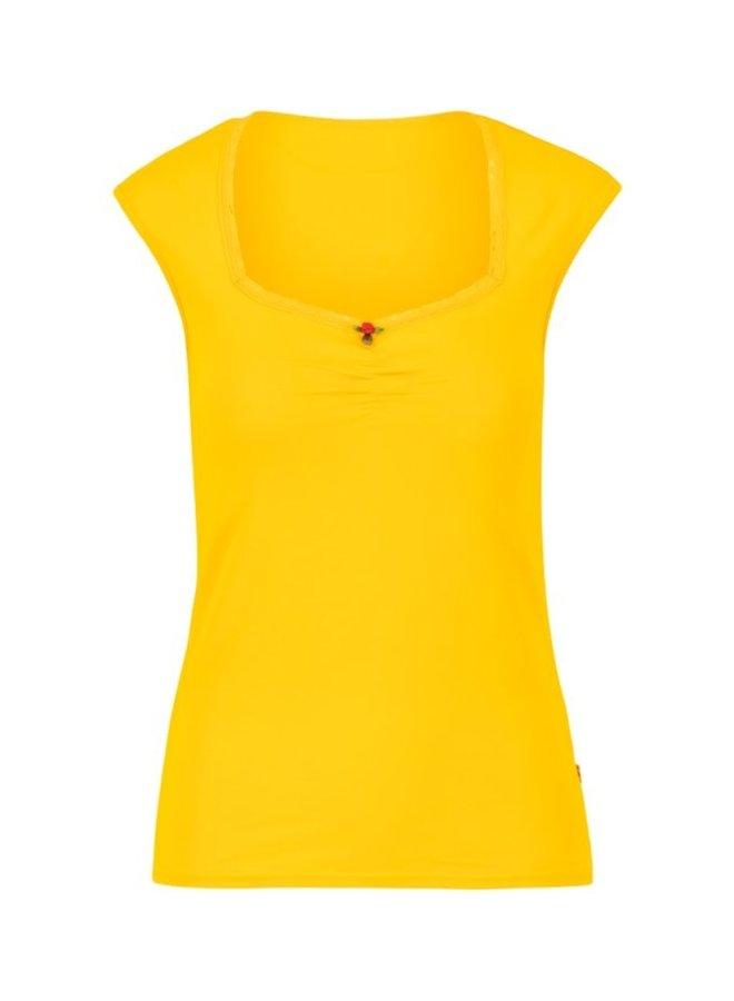 Shirt logo top romance - healing yellow