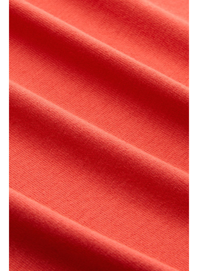 Sarah Top Ecovero light - Poppy Red