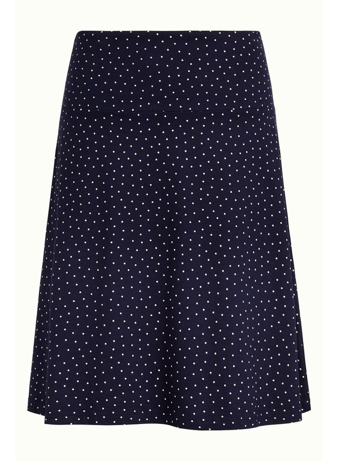 Rock - Border Skirt Little Dots - Nuit Blue