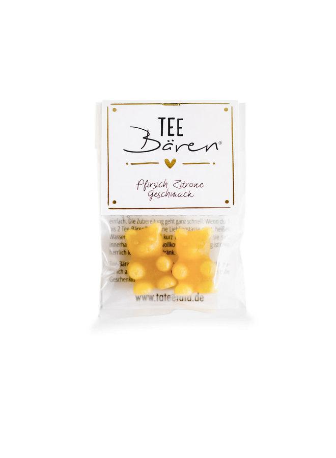 Tee Bären - Pfirsich Zitrone