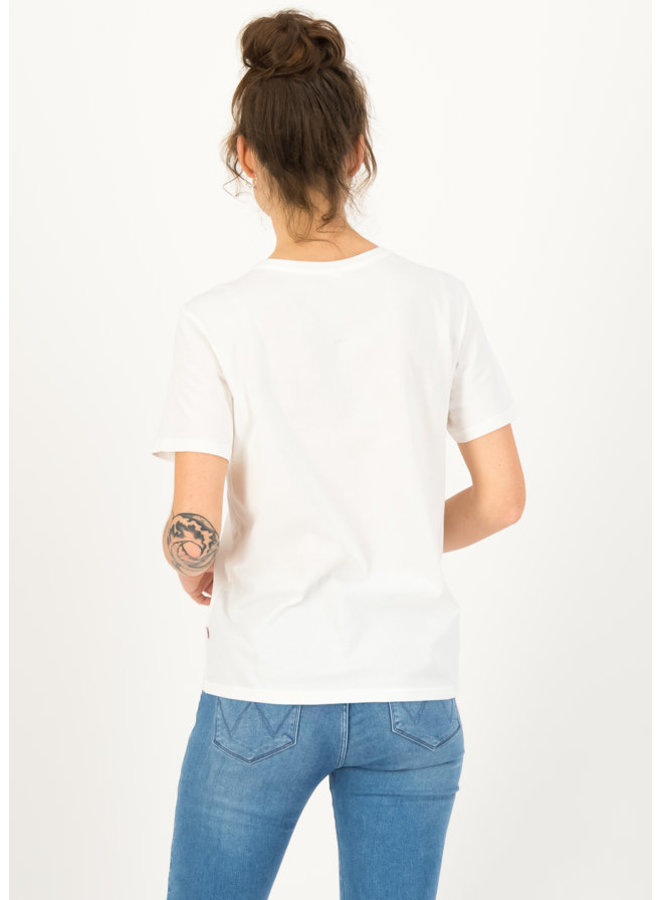 Jersey T-Shirt sweet temptation - bright white