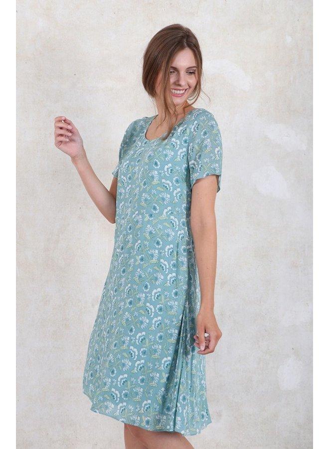 Kleid Stina - turquoise