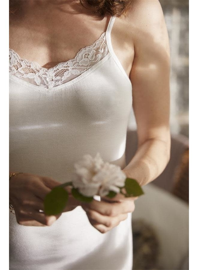 Trägertop Bella - Bright white