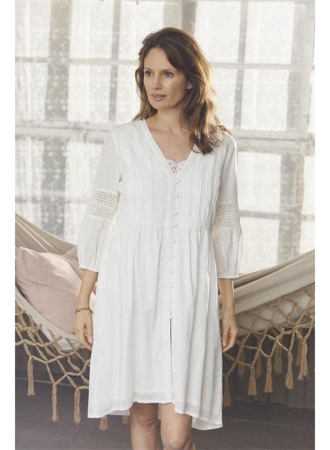 Kleid Justine - White sand
