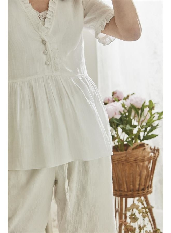 Bluse Ines - Bright white