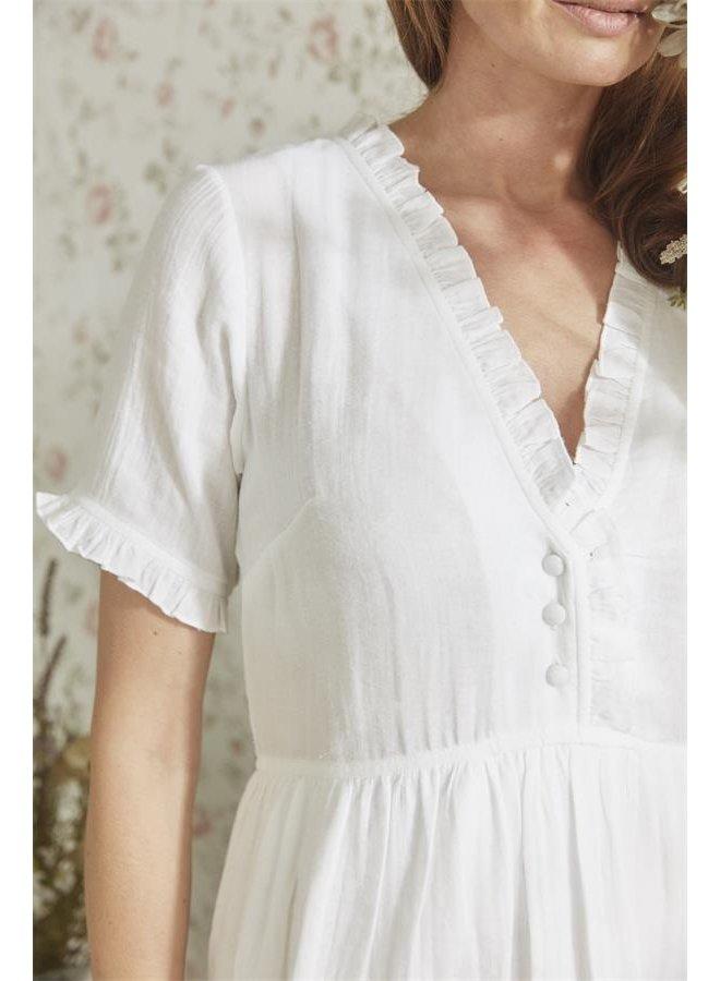 Kleid Ines - Bright white