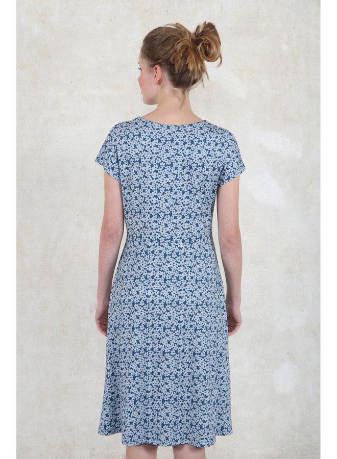 Kleid Casy blossom - azure