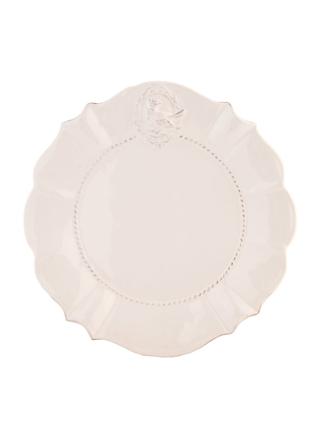 Desserteller Provence - Heart - Weiss