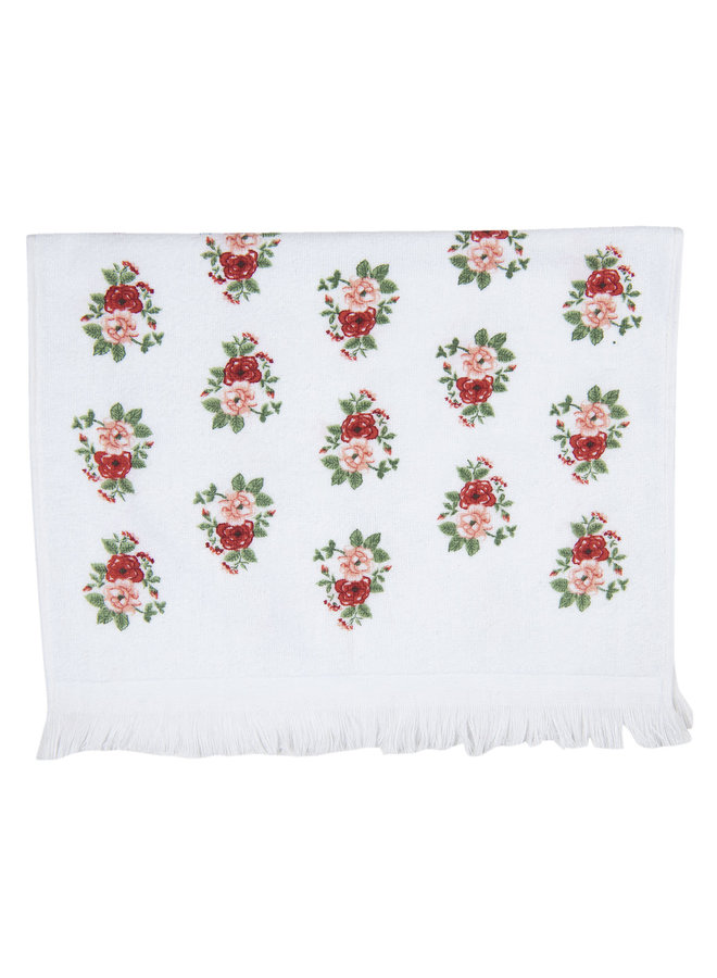 """Gästetuch """"De la Rose"""" - 40x60 cm Baumwolle"""