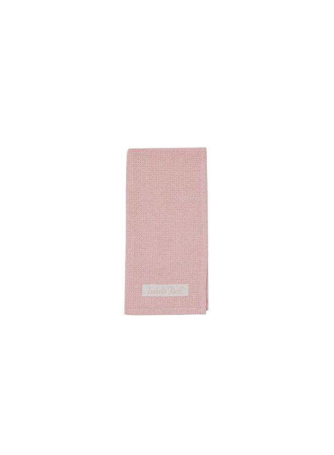 Geschirrtuch - Waffeltuch Rosa - 50x70cm