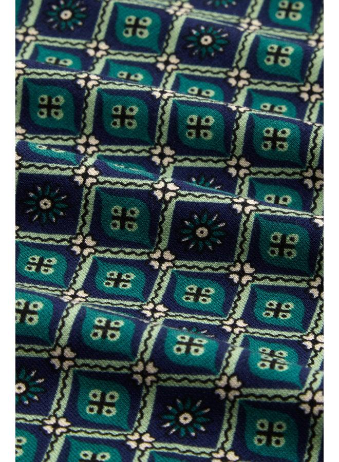 Rock - Border Skirt Carlisle - Peacoat Blue