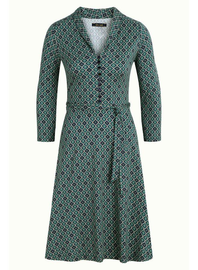 Kleid - Emmy Dress Carlisle - Peacoat Blue