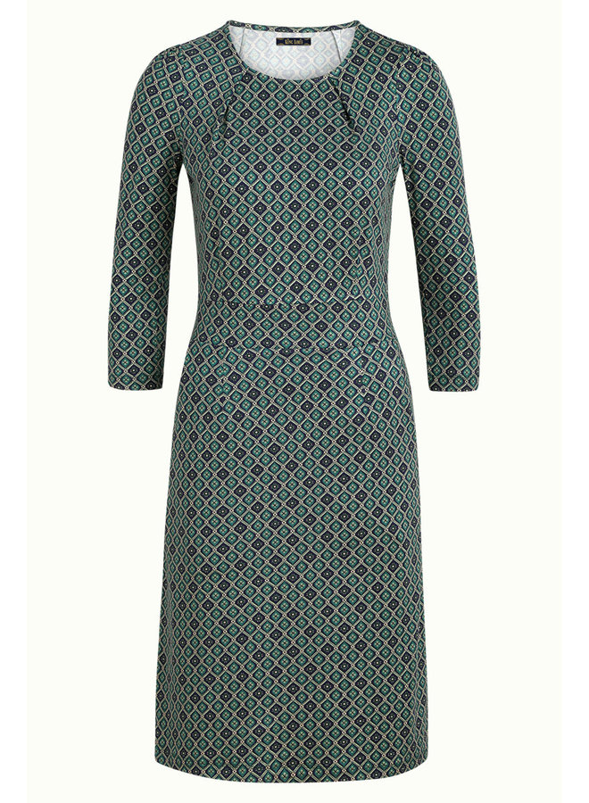 Kleid - Mona Dress Carlisle - Peacoat Blue