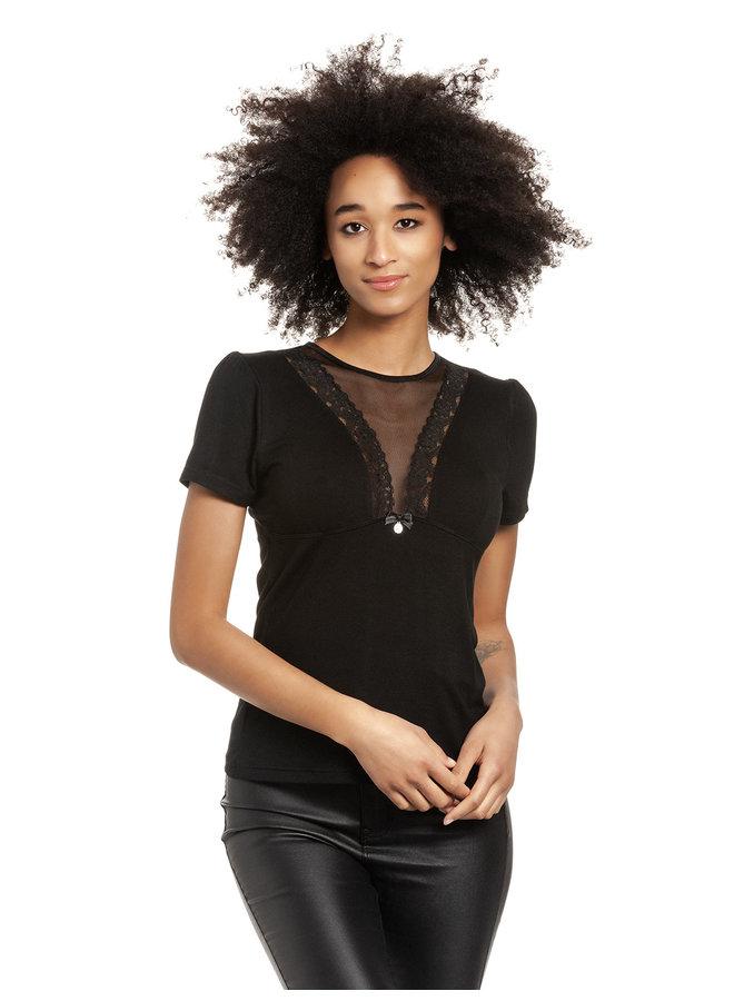 It´s My Party Damen T-Shirt - schwarz